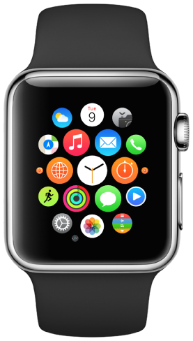 Apple Watch Series 1/2/3 (42mm - 44mm)